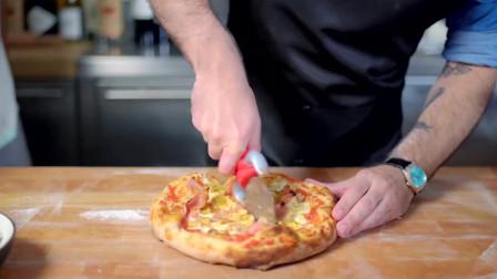 嫩到爆浆的美味香蕉布丁披萨,是你填饱肚子的不二之选!