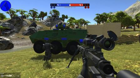 战地模拟器:解锁新武器M200狙击枪,它和AWM谁厉害?