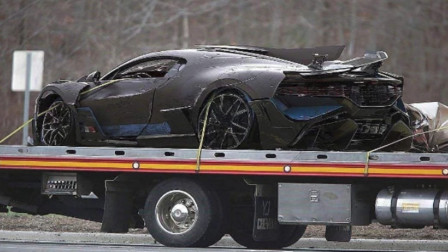 雅阁撞上布加迪,8000万豪车被撞到半废,日系车这么强?