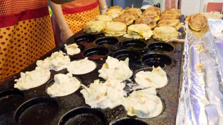 奶酪蛋面包,鸡蛋饼,韩国街头食品