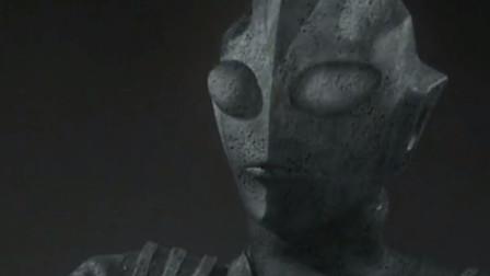奥特曼死后会变成什么?有人看到是一尊石像,一碰就碎