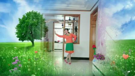 风中梅花广场舞《天下最美的草原》编舞 西湖莉莉老师 演示 梅花