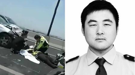 一路走好!杭州24岁辅警处理事故时被撞不幸身亡
