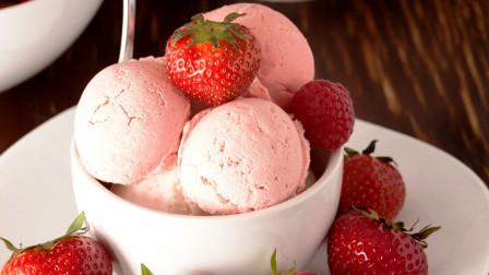 毛球小厨房:纯素食低热量的双果冰淇淋,夏日首选