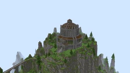 我的世界,搭建全新的城堡世界