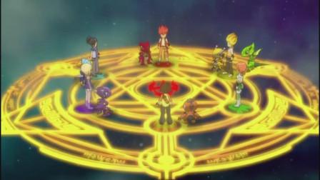 斗龙战士进入龙武星阵,带着星域守护龙的希望和嘱托,勇闯万系岛