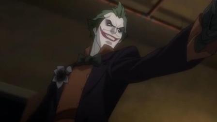 一部DC动画,小丑女为了地位色诱首领,成功为小丑编织出绿色帽子
