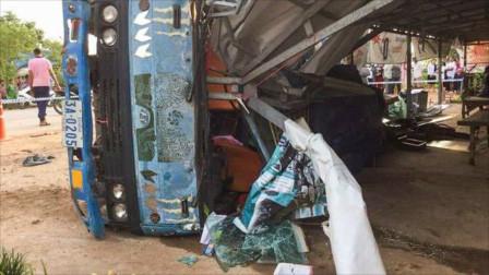 柬埔寨突发交通事故致2死5伤 死者为中国一对情侣