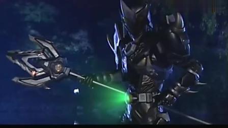 《铠甲勇士》黑犀打怪干脆利落,一招狂瀑扎瞬秒敌人