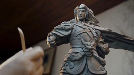 佛山陶艺大师用泥土塑造乱世王者,太厉害了