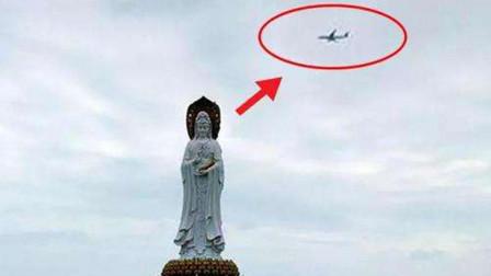 飞海南三亚的飞机,一定要围着南海观音像绕一圈?这是什么情况?