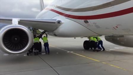飞机没有倒档,需要倒退时怎么办?涨见识了!