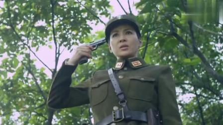 特种车队在中途遇到鬼子的埋伏,女队长遇难后一枪击毙自己,感动