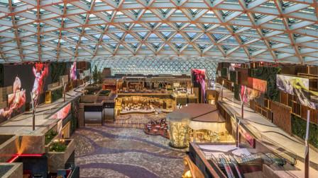 美狮美高梅:世界最大玻璃屋顶和世界最大的室内永久LED屏幕!