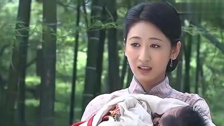 流泪的新娘:珍珠带着小伟和天智给人杰上坟,一家子其乐融融