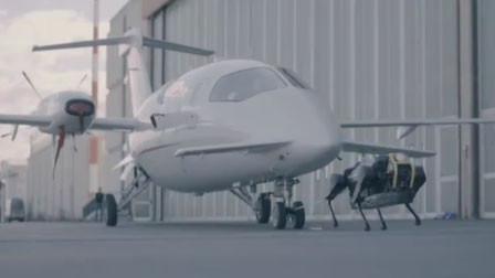 最新版本的机械狗又秀肌肉 轻松拉动3吨重的飞机