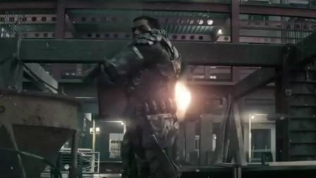 超人对超人将军的战斗,从地球打到太空再回到地球,毁灭都是一瞬间的事