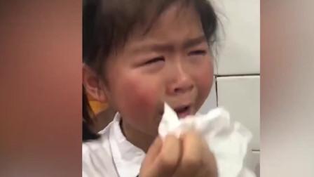 小女孩幼儿园升小学难过到失声痛哭!金句频出!