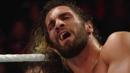 WWE:AJ的保镖竟然是大秀哥,罗曼直接被打倒,丹尼尔成了大赢家