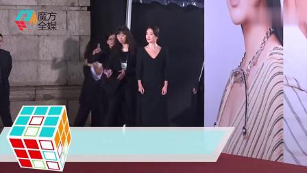 宋慧乔现身香港金像奖尽显女神范 自曝已加盟王家卫电影公司