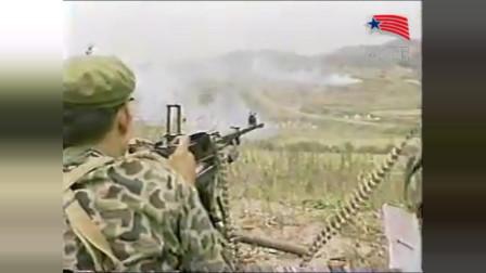 179师战术演练(日文版):解放军这单兵素质真牛,老兵压枪贼稳!