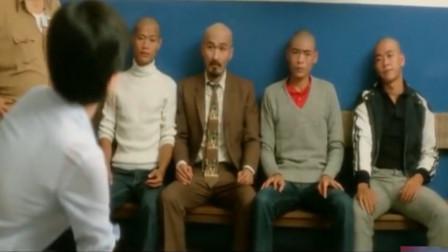 香港经典喜剧电影,光头佬得罪男人婆,这逼装的,不服不行!