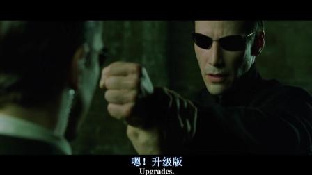 眨眼16年,重温黑客帝国脸上超干净,穿着超帅的基努·李维斯