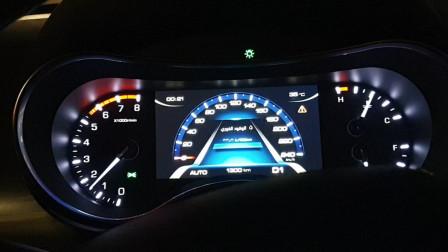 长城哈弗H9的动力系统怎么样?夜晚跑个加速测试后就知道了