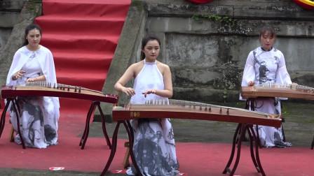 古筝合奏《梅花三弄》成都茉莉花琴社