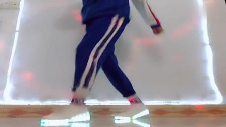 鬼步舞左右奔跑教学,一步一步教,简单易学!