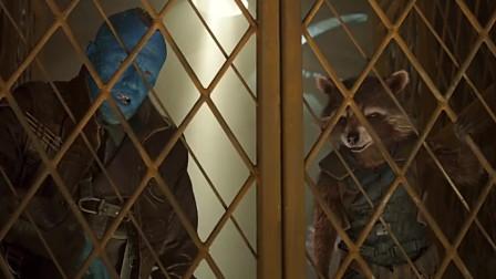 银河护卫队2:小格鲁特帮勇度偷机械鳍,蠢萌的样子太可爱了!
