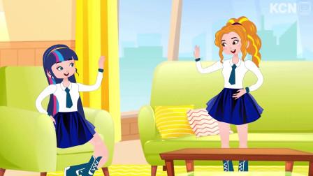 甜蜜女孩:女孩的漂亮裙子被人偷偷穿了