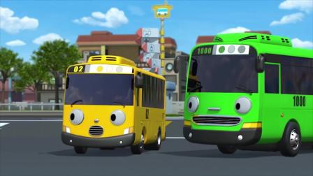 从未独自工作过的太友被大家推选去代替生病的公交车工作 动画片