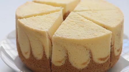 「烘焙教程」颶风戚风蛋糕,超级松软好吃的小蛋糕