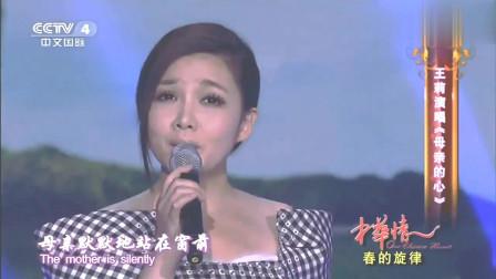中华情:王莉演唱《母亲的心》,可怜天下父母心,太感人了