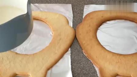 手工制作的可爱龙猫饼干,是不是很有创意呢