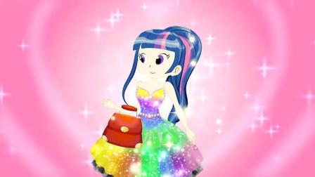 小马宝莉特别故事:魔法师帮助紫悦变个大美女!