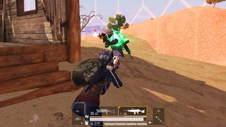 狂战士杰西:遭遇偷袭,一把100发子弹大菠萝,转身硬怼对手!