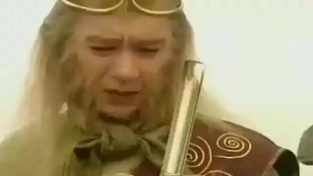 云海翻腾孙悟空   金箍棒去找主人, 孙悟空流下眼泪, 患难见真情啊!