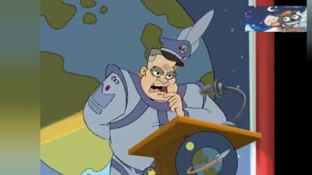 猫和老鼠 杰瑞你这个缺德的家伙,他把汤姆的绳子给解开了