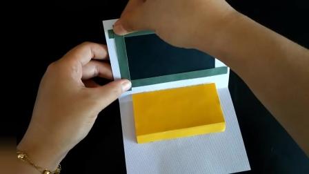 自制教师节礼物,90秒折出一张立体贺卡