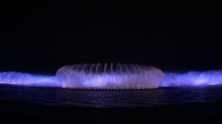 【音乐喷泉】苏州金鸡湖音乐喷泉升级前告别演出完整版 - 20190308