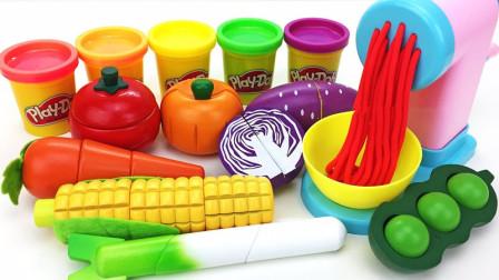 儿童益智玩具  用料理机做面包蛋糕和水饺   儿童学习英文玩具视频