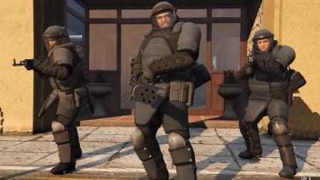 GTA5 麦克老崔血洗佩里托银行 能当电影看的游戏 玉龙侠盗飞车系列第十六期