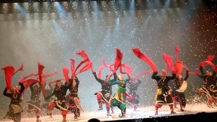 杨丽萍舞剧《云南印象》尾声段群舞表演