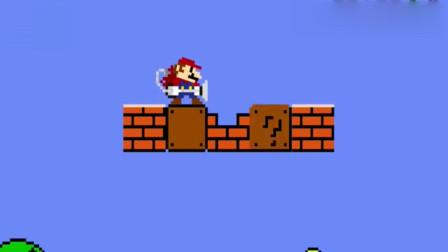 超级马里奥:马里奥大叔终于可以休息了,一步飞到终点,他是怎么做到的?