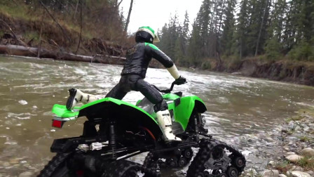 玩泥巴不仅仅是小朋友的专利 ATV遥控车同样玩得转