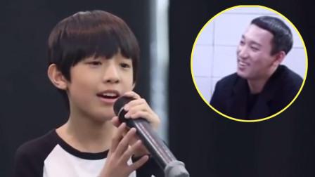 11岁中国小男孩唱《去流浪》,惊呆韩国声乐老师