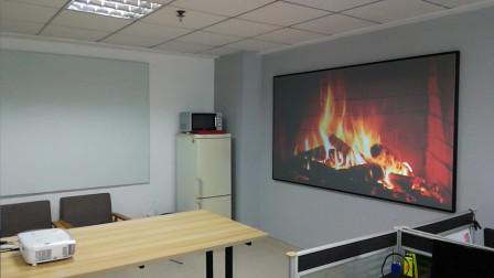 安装完成后客户实拍效果视频集0526,Yandood投影幕客户实拍效果视频集