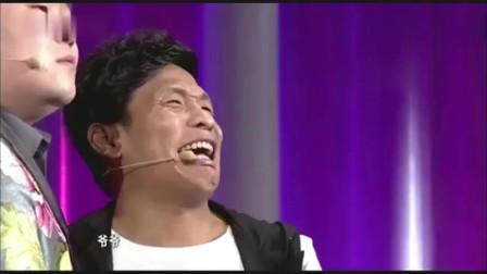 欢乐喜剧人5:宋小宝岳云鹏现场表演苦情戏,岳云鹏一秒破功,宋小宝喊着爷爷一直笑场